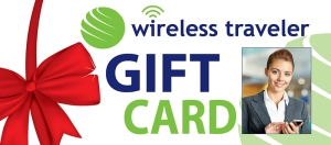 Wireless Traveler App Gift Card