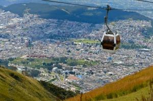 Teleferico Quito Ecuador