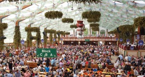 Oktoberfest Beer Tent, Munich, Germany