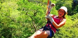 Costa Rica zip line adventure